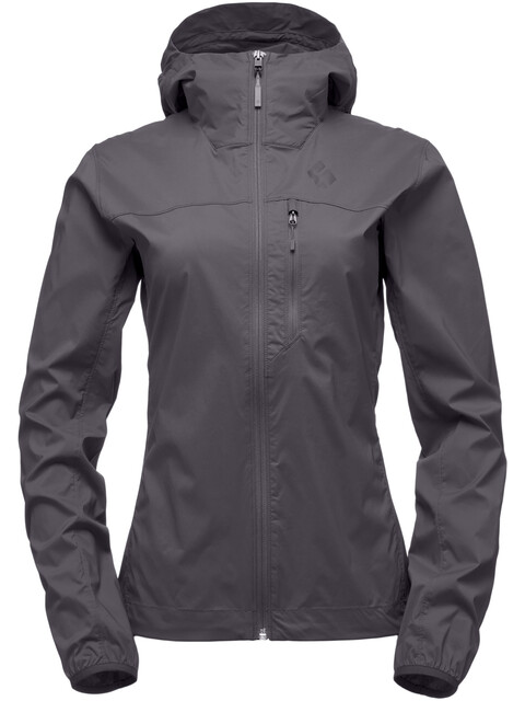 Black Diamond Alpine Start Hoody Jacket Women Smoke